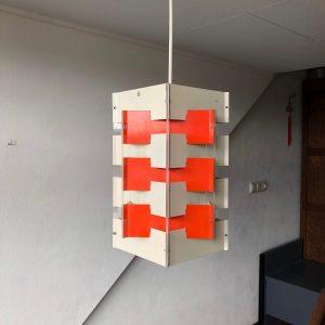 ANVIA - 60's Pendent Light - Jan Hoogervorst - Dutch Design Lamp - red