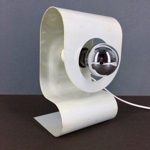 Solken Leuchten space age desk - lamp 70's metal table light