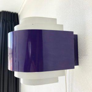 Svera Space Age Wall Light Purple
