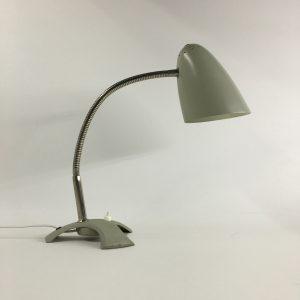 Vintage desk light - 60's design - retro table xl lamp - rare tripod flexible gooseneck