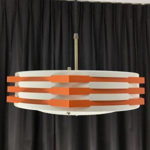 Modern Pendent Light - Rare 70's Metal Lamp - Vintage Philips - ANVIA Hoogervorst Style