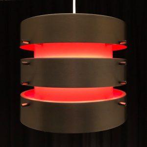 Modern Scandinavian Stainless Steel Pendant Light - RARE 70's DDR Lamp