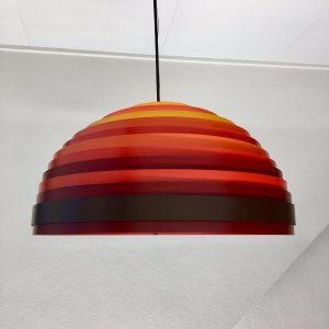 Vest Leuchten - Modern 60's Pendent Light - Wilhelm Vest Dynamic Lamp - 1967 Austria