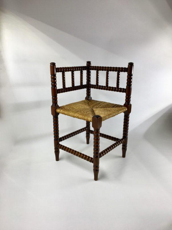 Bobbin Corner Chairs - English Norfolk Chair