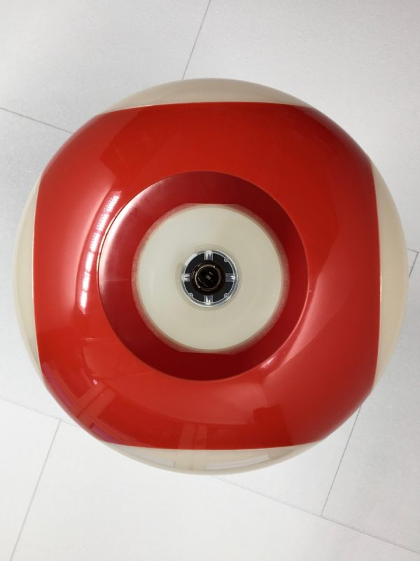 UFO space age pendent light - Massive red lamp - Steinhauer Colani