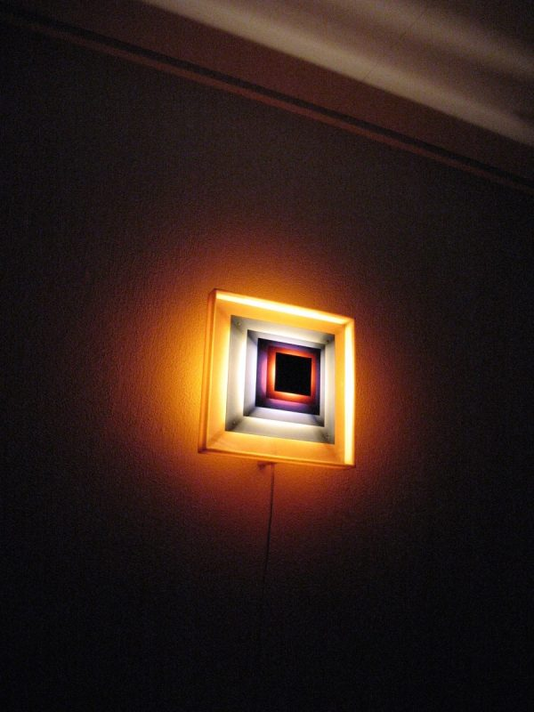Lyfa Kvadrille Wall Light by Bent Karlby