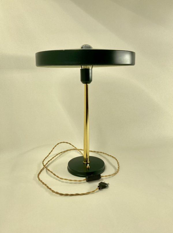 Philips Timor desk lamp - 50's Dutch design metal table lamp - Louis Kalff light