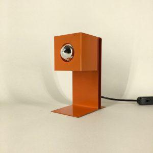 Philips NTS 7 desk lamp - Modern 60's Dutch table light - Cubist