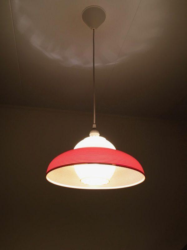 Rotaflex hanging lamp - 60's modern mid century design pendant light