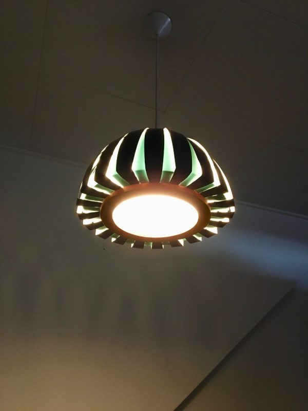 Svend Aage Holm Sørensen lamp - Fiesta - Modern 60's Denmark very rare pendent light