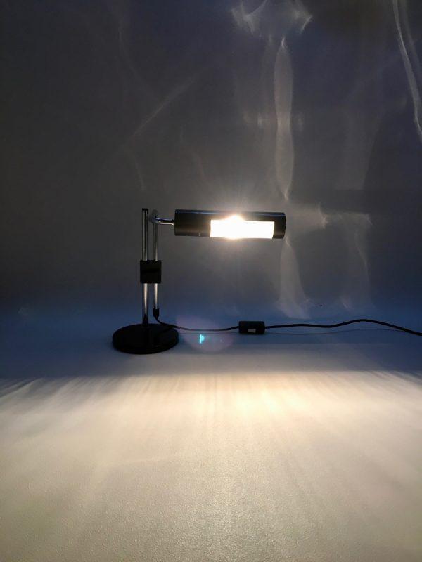 Hala Zeist desk light - Dutch vintage metal 60's table lamp