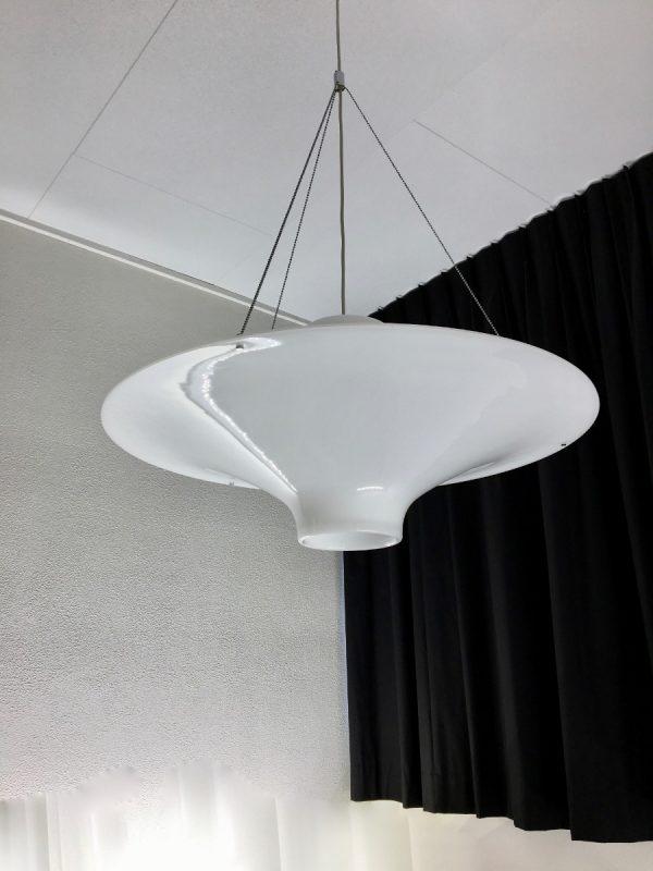 Skyflyer - pendant light - Yki Nummi - Stockmann Orno lamp - Finland - 70 cm. - Lokki classic modern