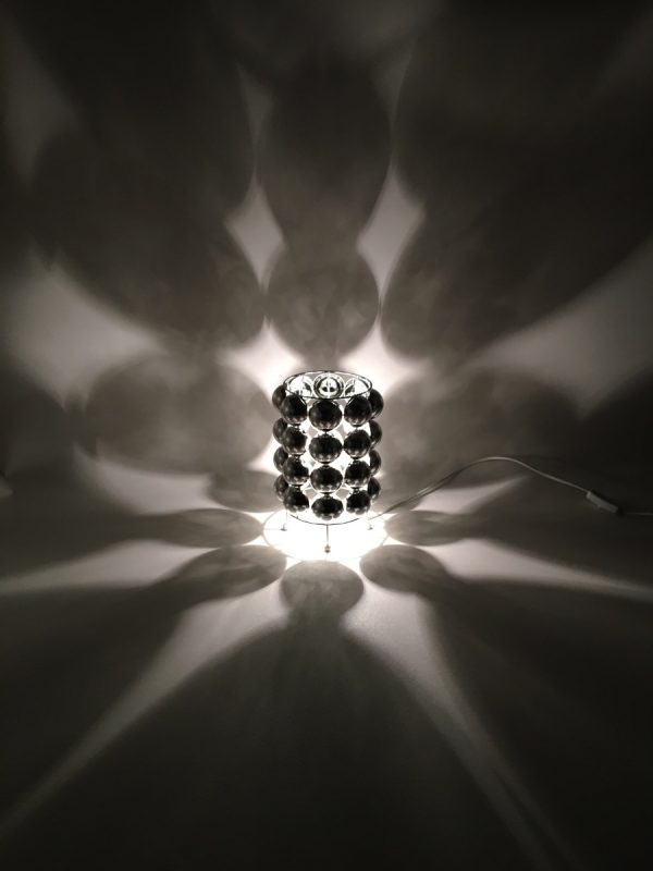 Space age table light set - Kare Design - rare vintage bulb desk lamp - 90s Panton style