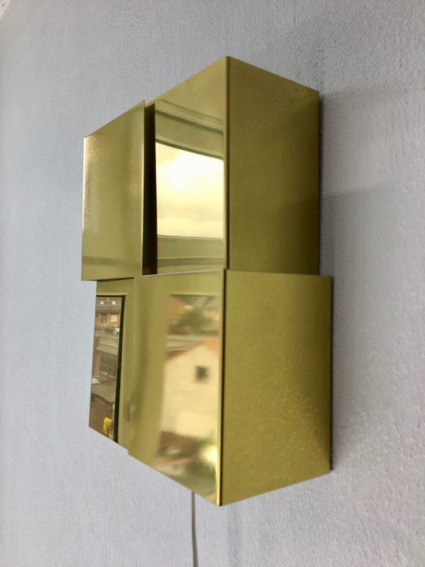 ANVIA Almelo metal wall light - Miro - rare Dutch design modern lamp