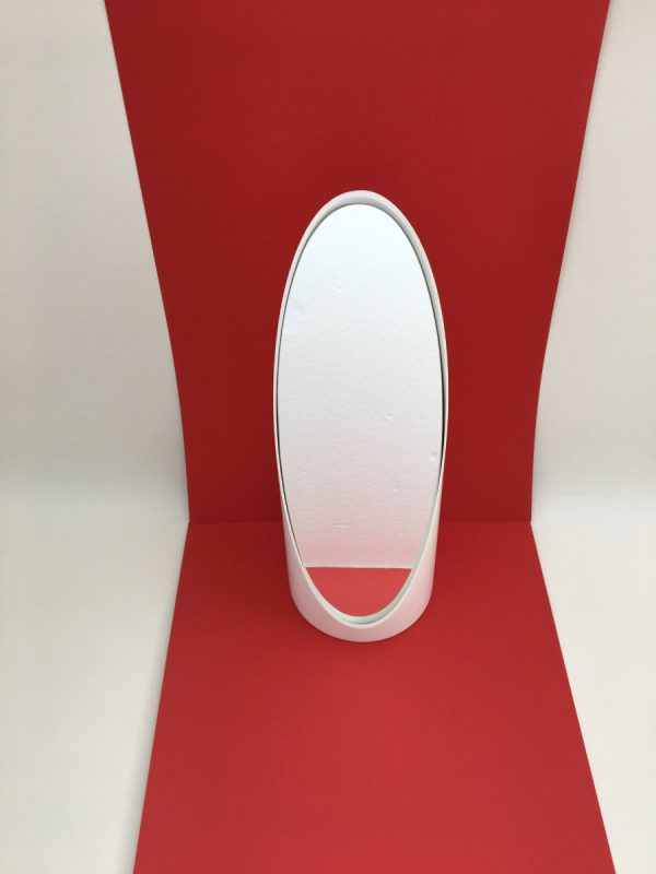 Lipstick table mirror Roger Lecal - Vintage mirror 70's - Space age