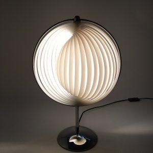 Moon desk lamp - 90s table light - 18.5 inch modern vintage - Kare design - Verner Panton style - DOM Christian Koban